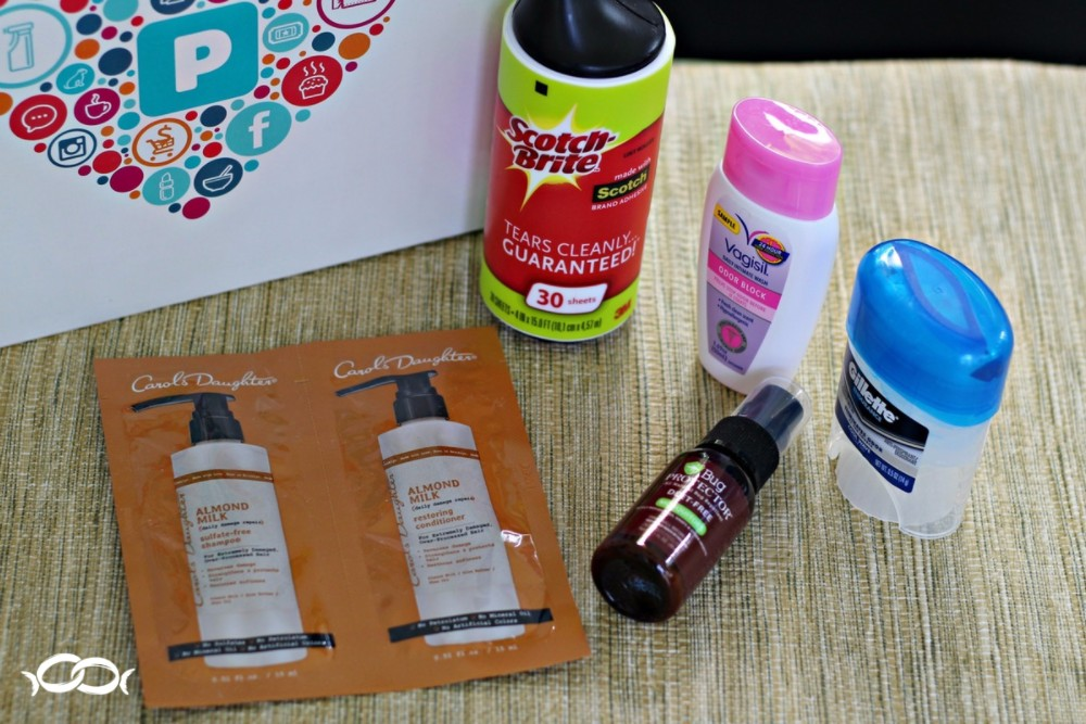 Other great products in my PINCHme free sample box