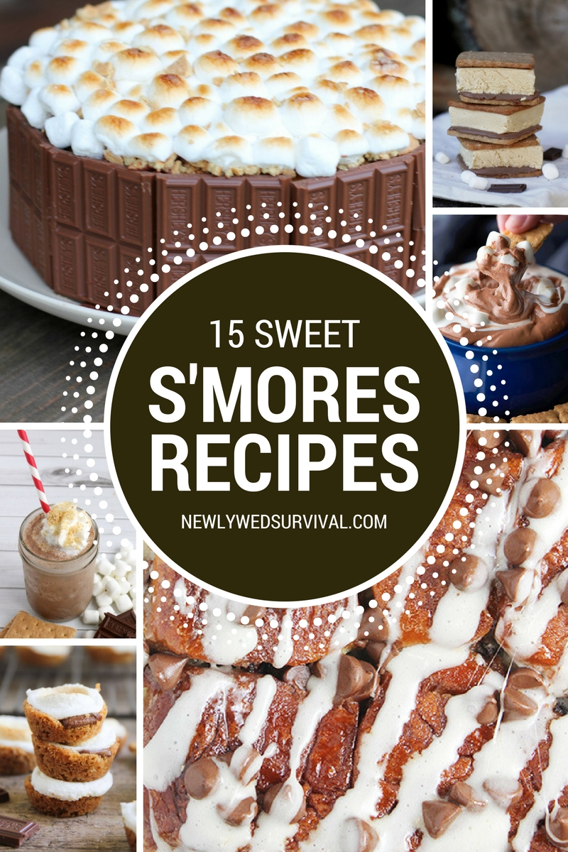 National S'mores Day is August 10. Try one (or more) of these recipes to celebrate the day... or any day! 15 S'mores Recipes that Will Satisfy Your Sweet Tooth