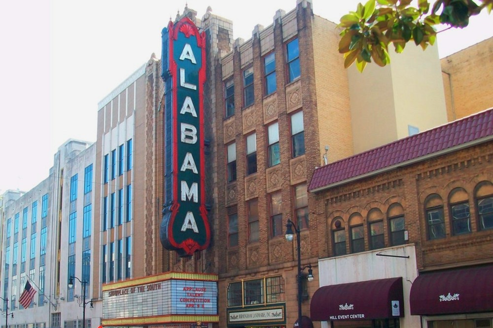 Birmingham Date Ideas: Catch a show at the historic Alabama Theatre