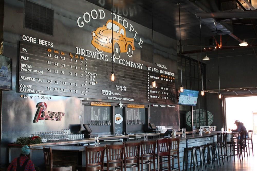 Birmingham Date Idea: Go to a brewery tour at the Good People Brewing Company