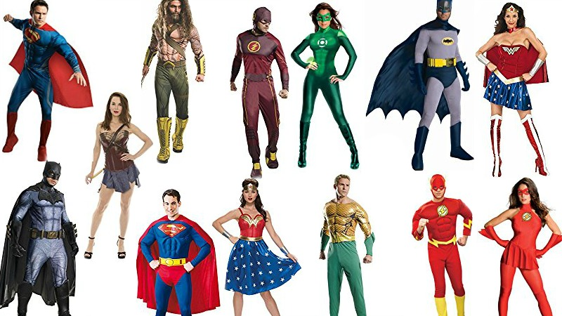 Justice League Superhero Costumes for Couples
