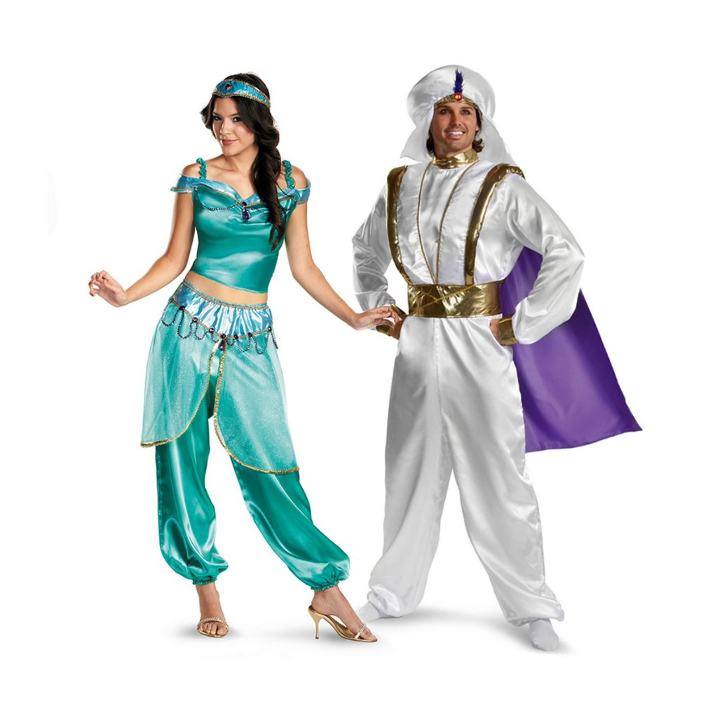 Alladin couple costumes Alladin and Jasmine