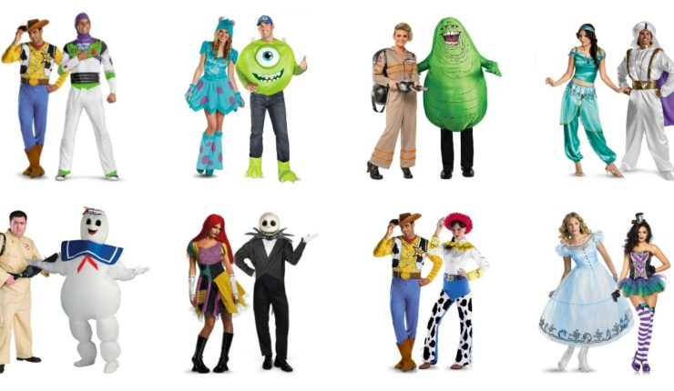 Top Movie Costumes for Couples