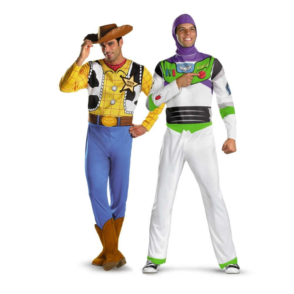 Toy Story: Woody and Buzz couples costume