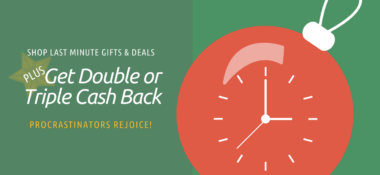 Ebates-Double or Triple Cash Back