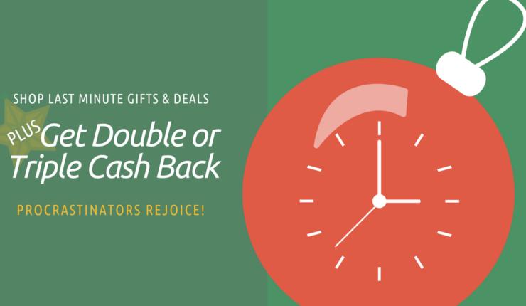 Last Minute Gifts for Your Spouse PLUS Find Out How to Get Deals & 2-3 Times Cash Back!