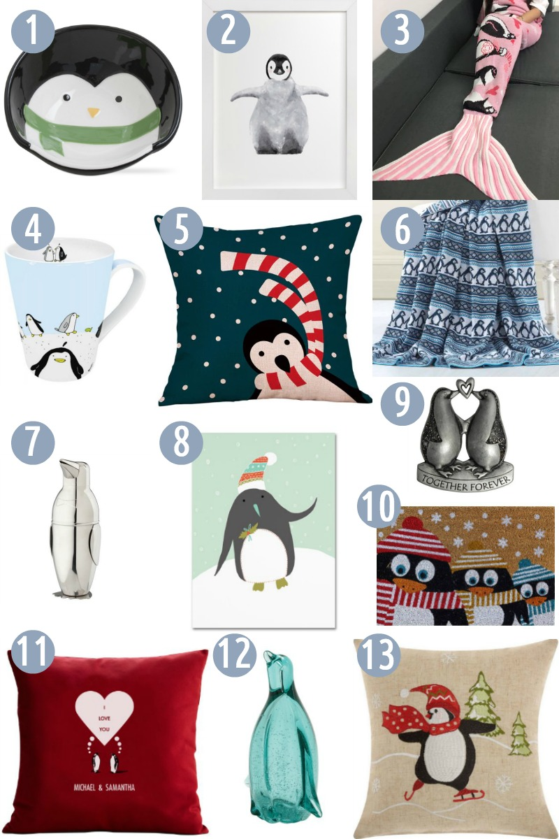 Penguin Gifts for the Home
