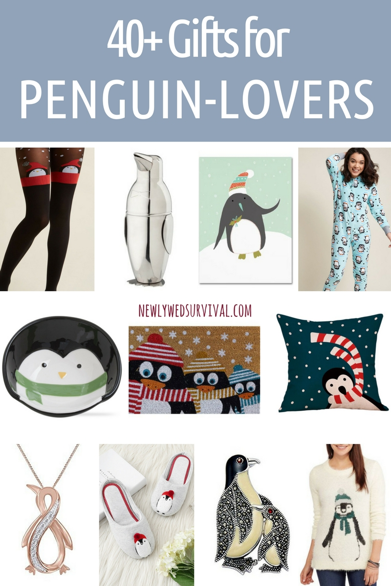 40+ Gifts for Penguin Lovers + Free printable penguin gift tags!