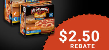 Easy Dinner from Red Baron + a $2.50 Rebate!