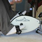 DeskCycle: Exercise While Working with an Under Desk Exercise Bike
