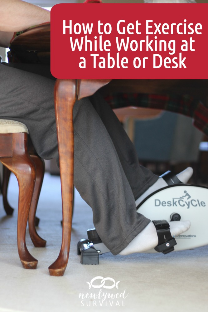 How to Get Exercise While Working at a Table or Desk