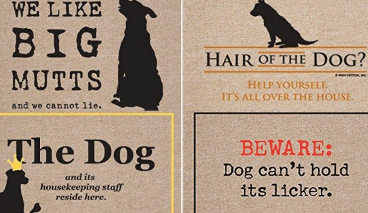 17 Clever Doormats Every Dog Owner Will Love