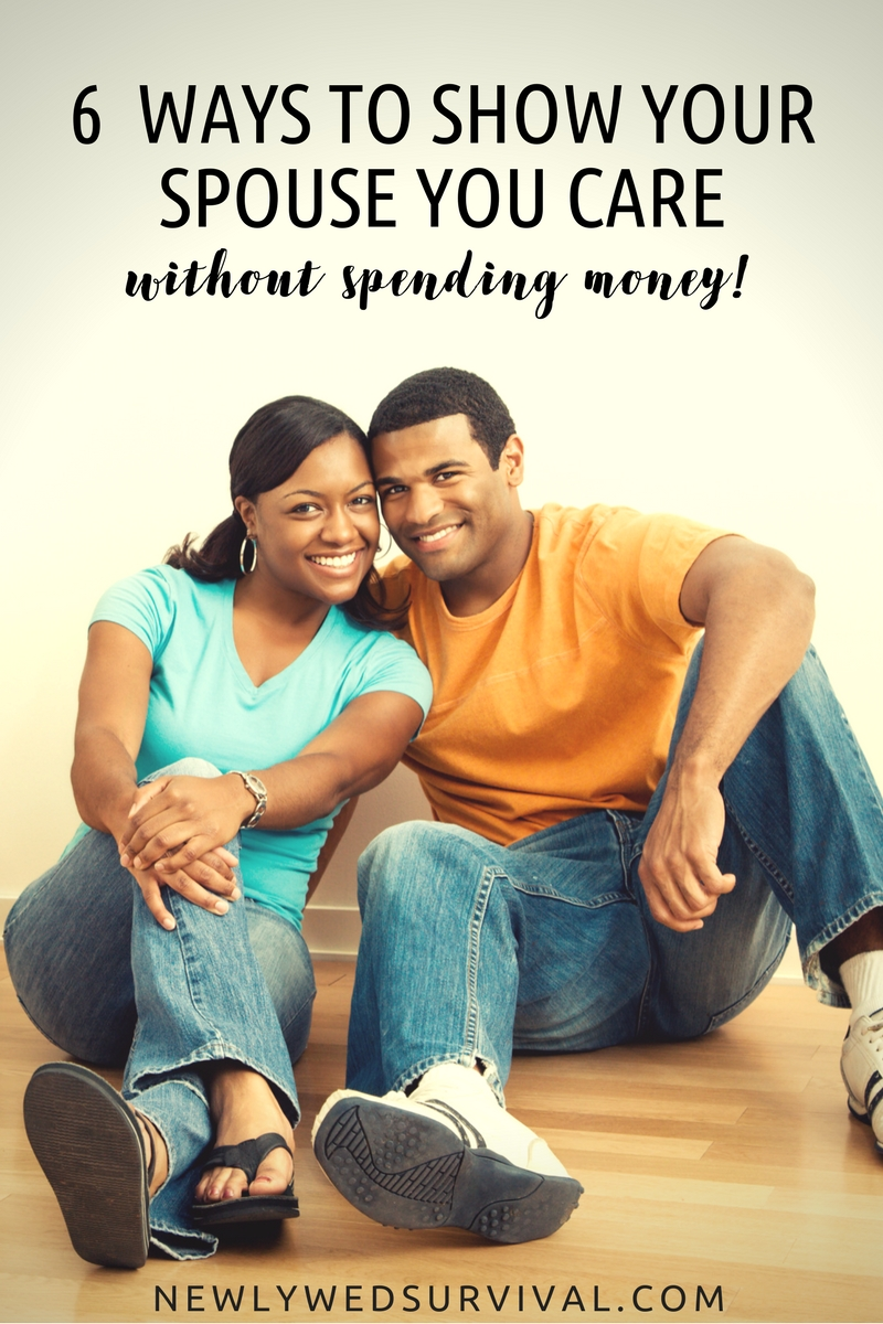 6 Ways to show your spouse you care - without spending money