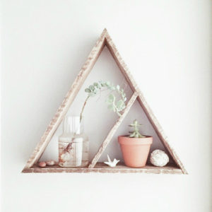 Etsy Find: Cute Triangle Shelf for the Home