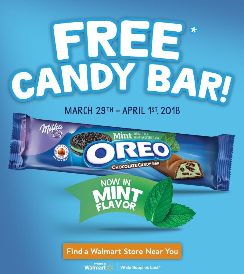 OREO free candy bar
