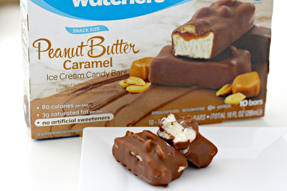 Weight Watchers Peanut Butter Caramel Ice Cream Candy Bars - 4 SmartPoints