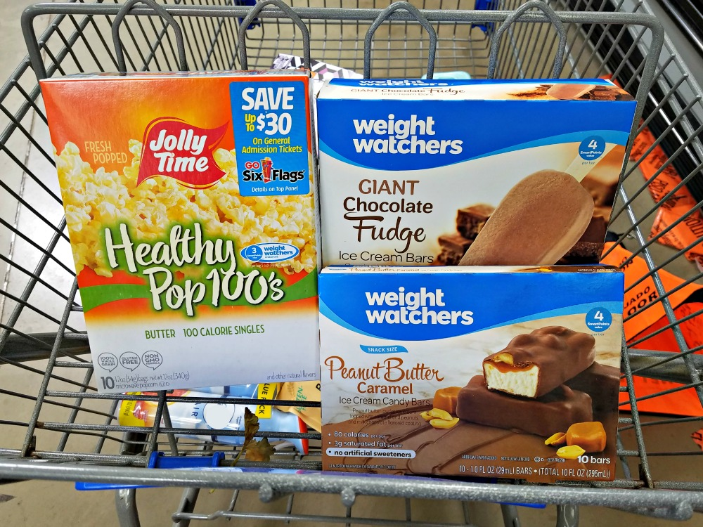 Weight Watchers endorsed products at Walmart
