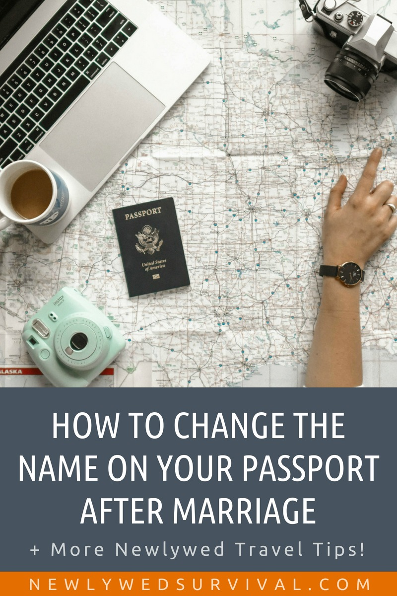 How to Easily Change the Name on Your Passport After Marriage + Other Name Change Travel Tips for Newlyweds! #namechange #newlywedtravel #honeymoon
