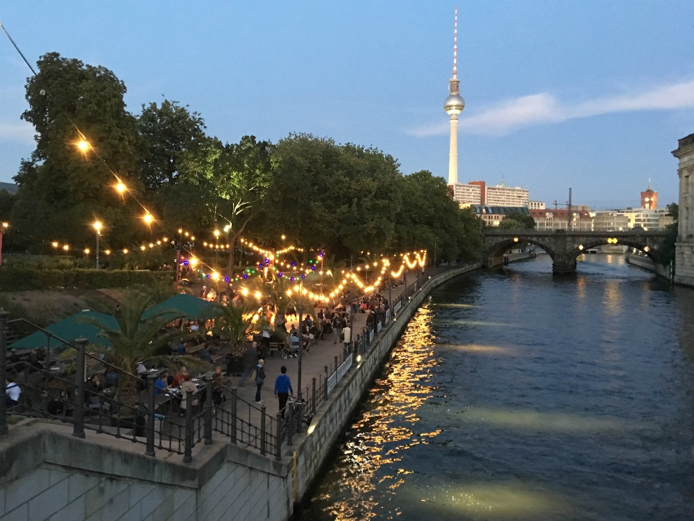 Berlin Date Idea: Go Dancing at the Strandbar Mitte