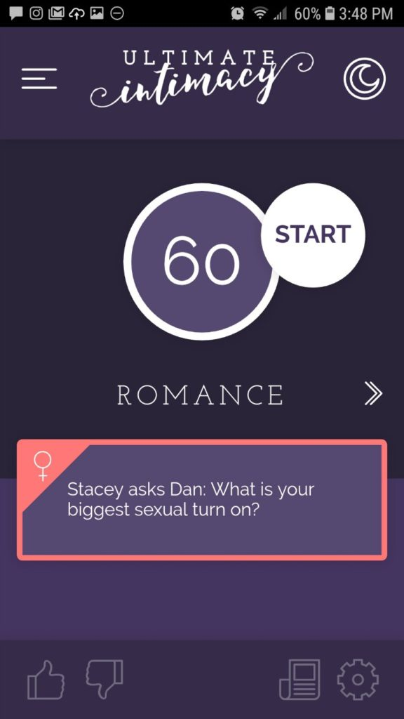 Ultimate Intimacy app game - romance