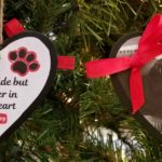 Easy DIY Dog Memorial Ornament with a Free Printable