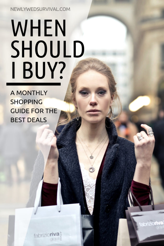 A Monthly shopping guide for the best deals