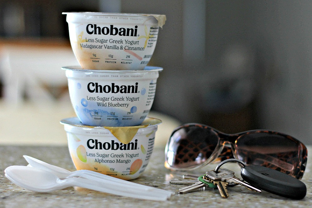 Simplify with Chobani Less Sugar Greek Yogurt