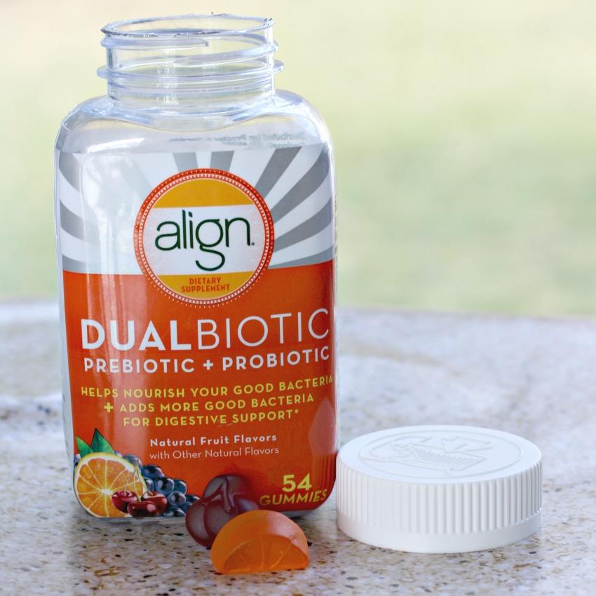 Align Dualbiotic gummies