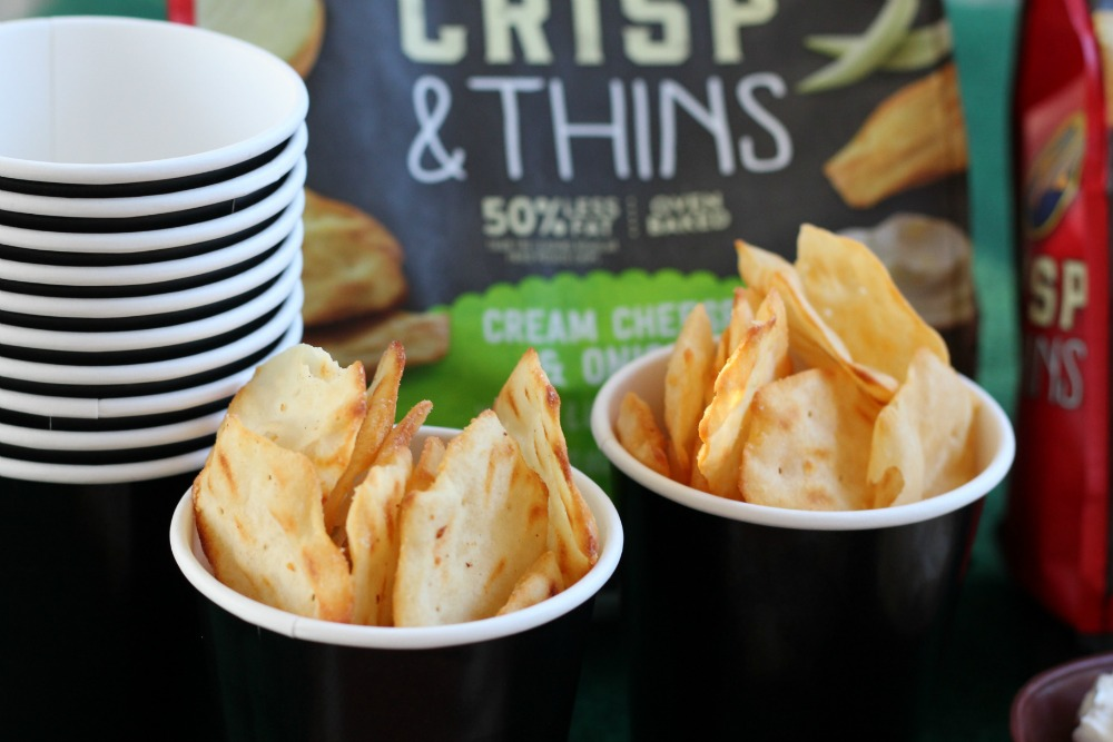 RITZ Crisp & Thins are deliciously thin and oven-baked to perfection