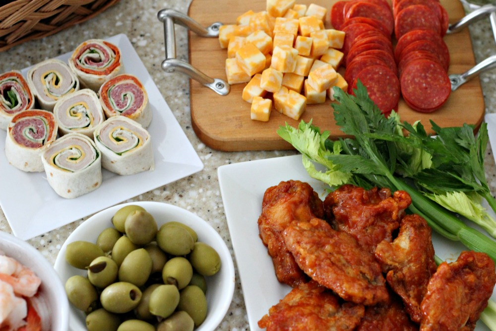Appetizers for an Extreme Bloody Mary Bar