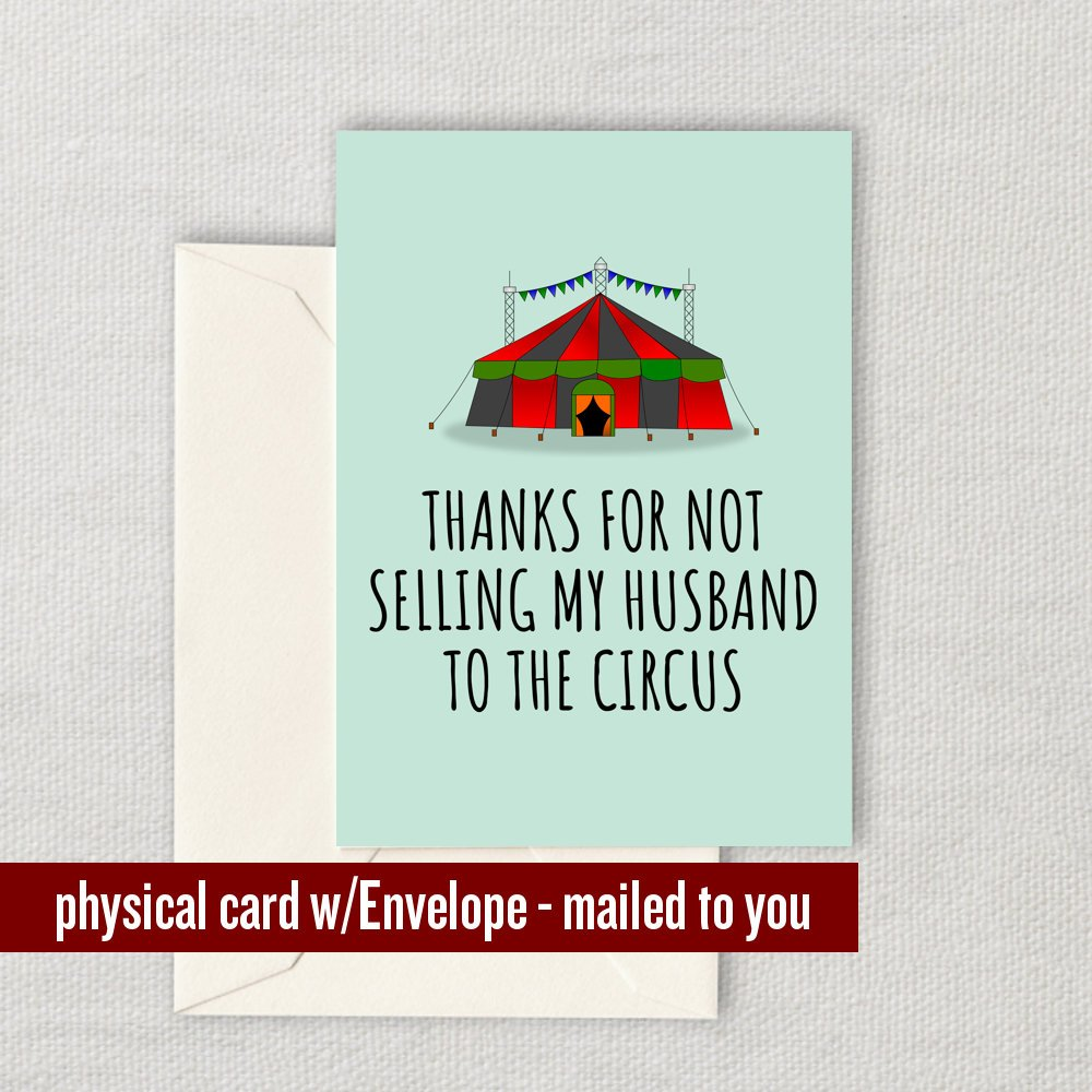 Funny Mother-In-Law Card