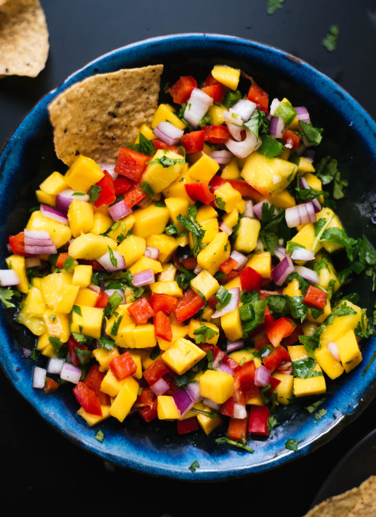 cookie and kate-fresh mango salsa recipe