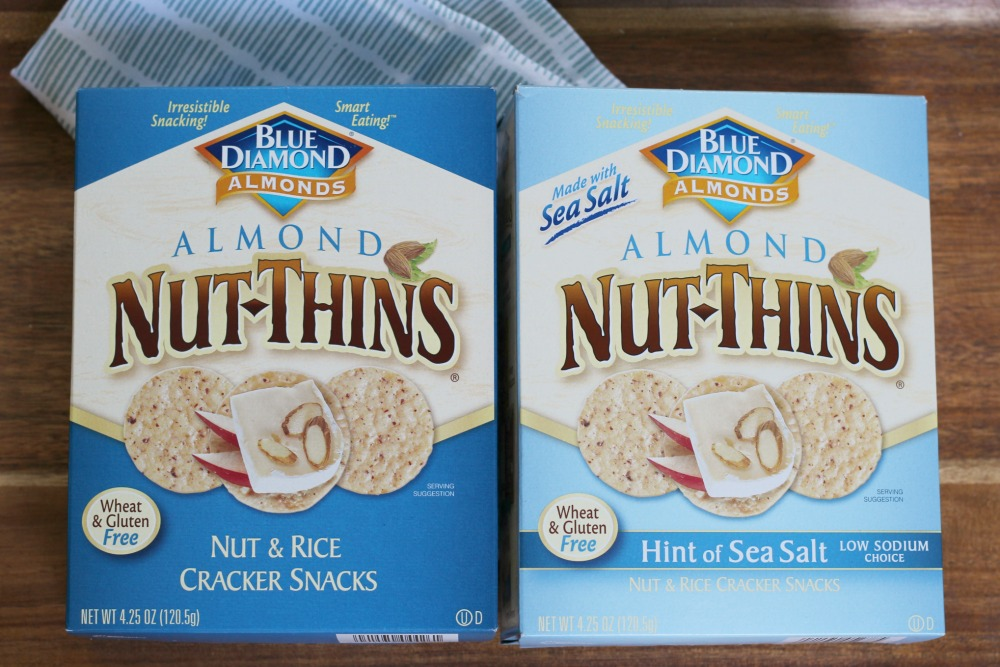 Nut-Thins Original Almond and Nut-Thins Hint of Sea Salt