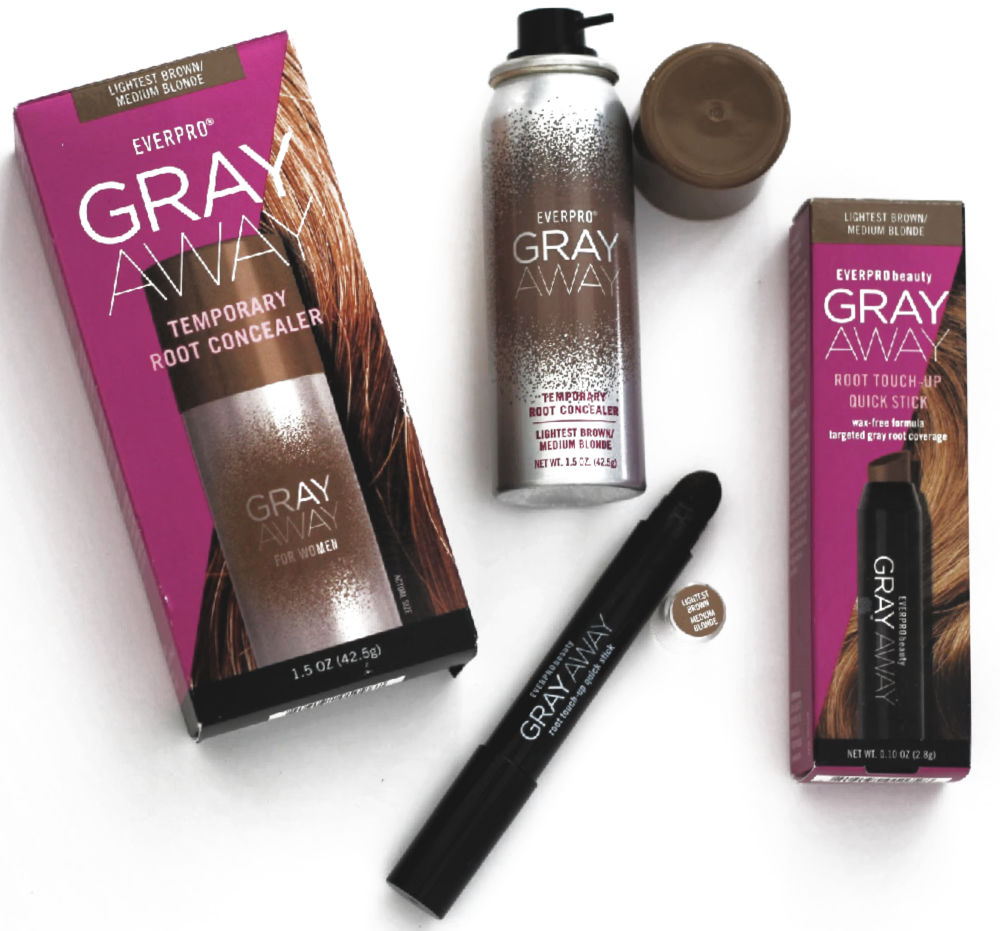 Gray Away products are great for easily covering your gray roots!