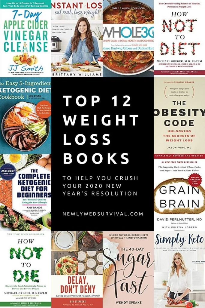 Top 12 Weight Loss Books to Help You Crush Your New Year's Resolution