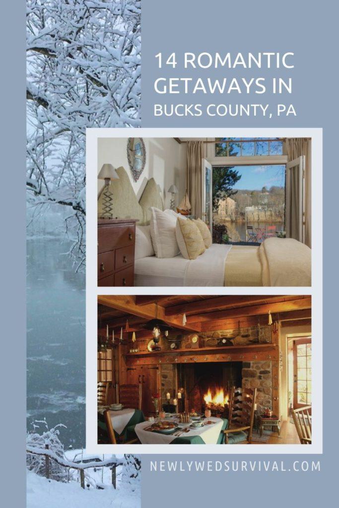 14 Romantic Getaways in Bucks County, PA
