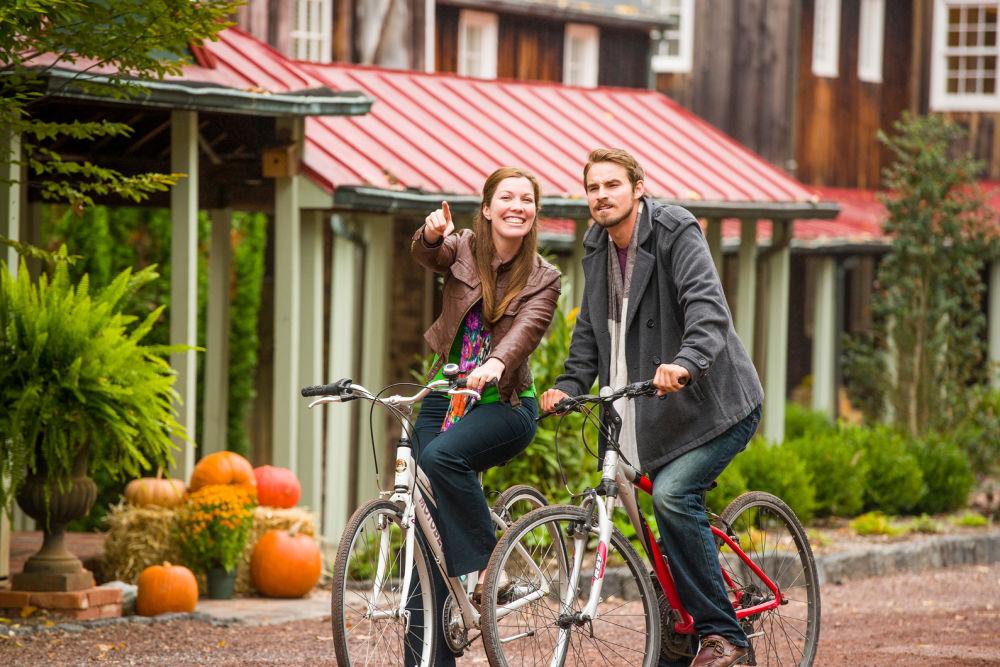 Cycling at 1740 House