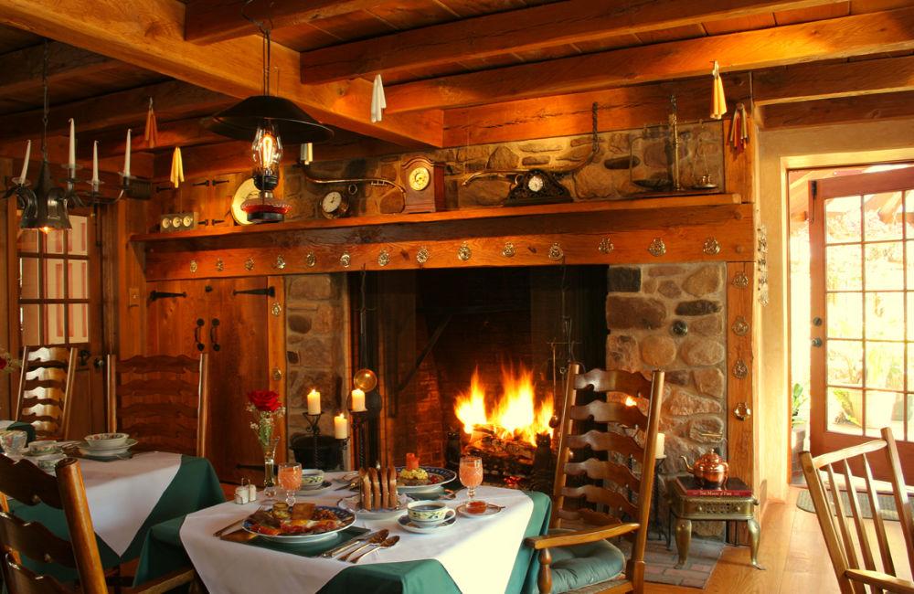 Fireside Breakfast at the Inn at Bowman's Hill